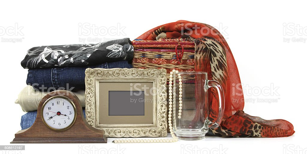 Consignment Store stock photo