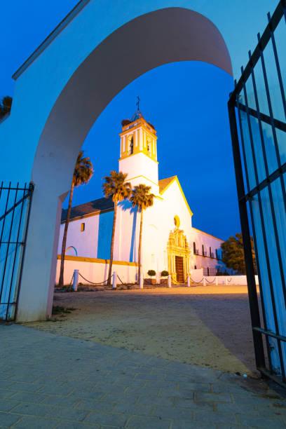 Santuario de Consolación de Utrera - foto de stock