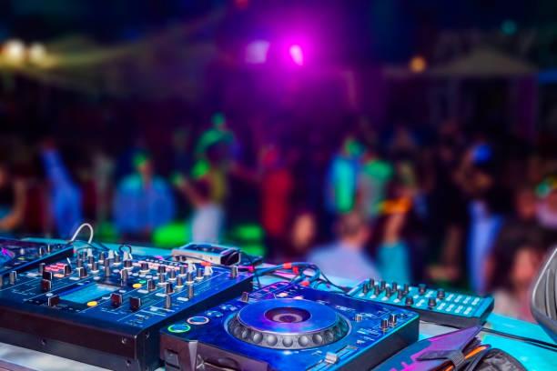 Console do DJ - foto de acervo