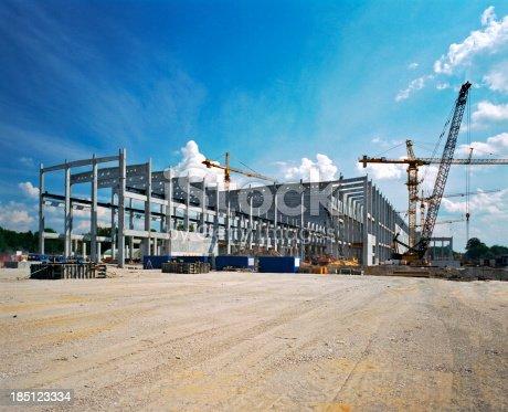 Factory under construction