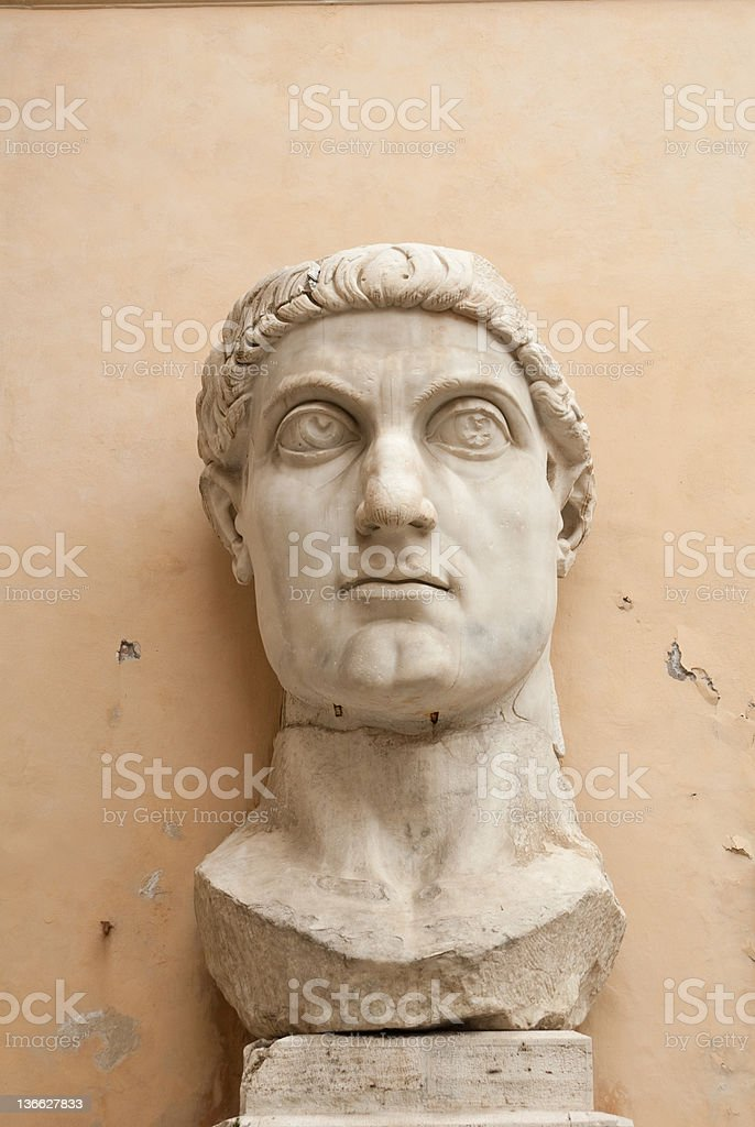 costantine statue royalty-free stock photo
