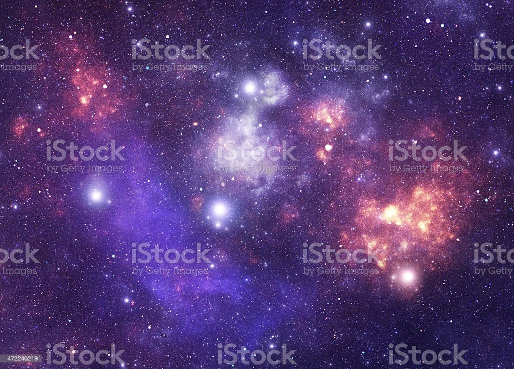 Constellation. Norma (Nor) stock photo