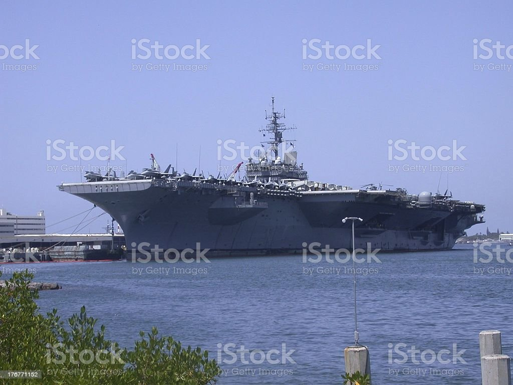 USS Constellation royalty-free stock photo