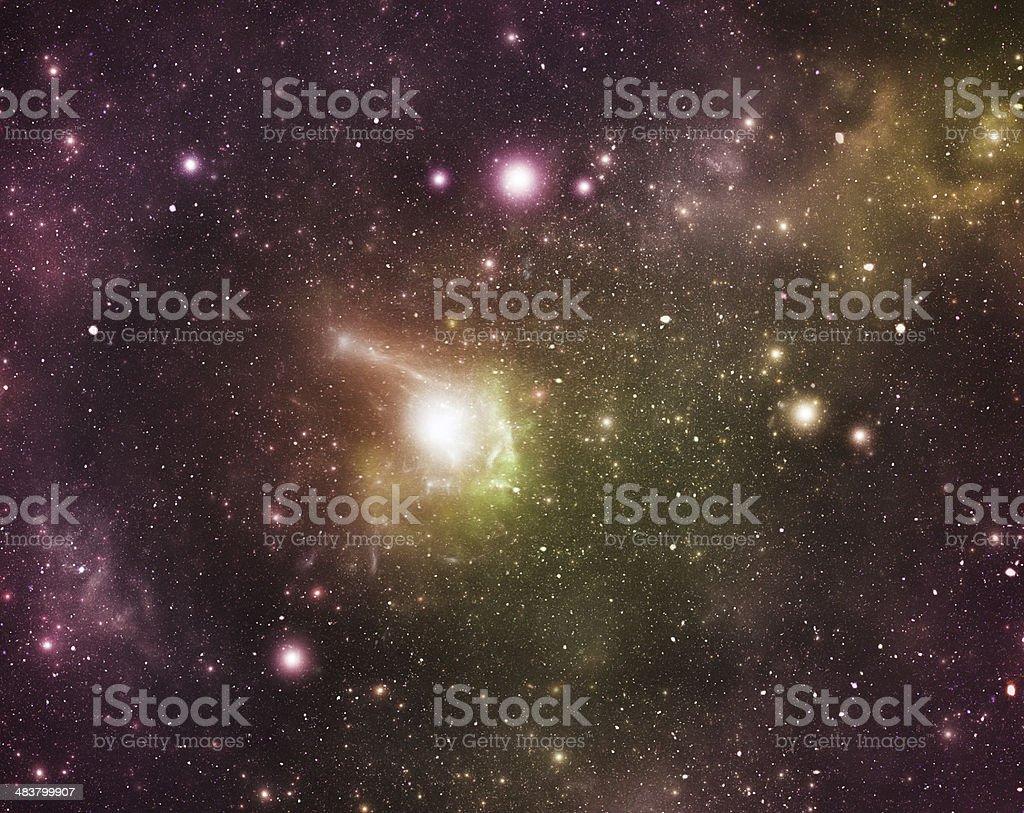 Constellations. Aquila (Aql) royalty-free stock photo