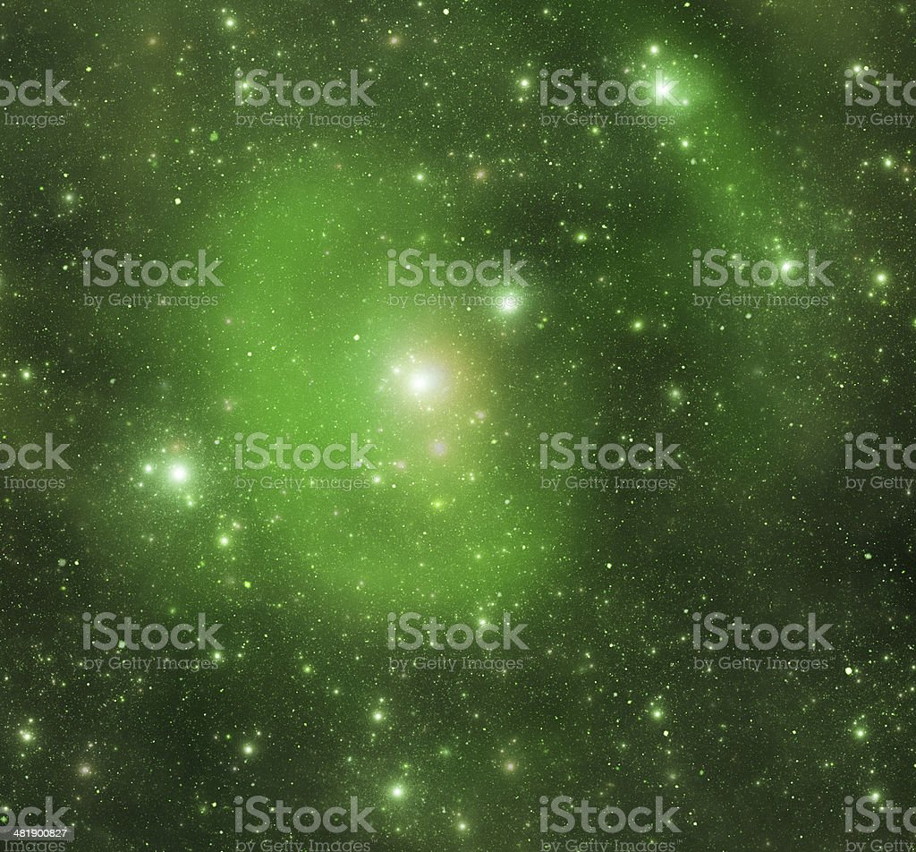 Constellations. Cancer (zodiacal) stock photo