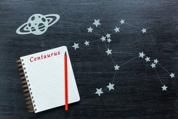 konstellationer centaurus - centaurus bildbanksfoton och bilder