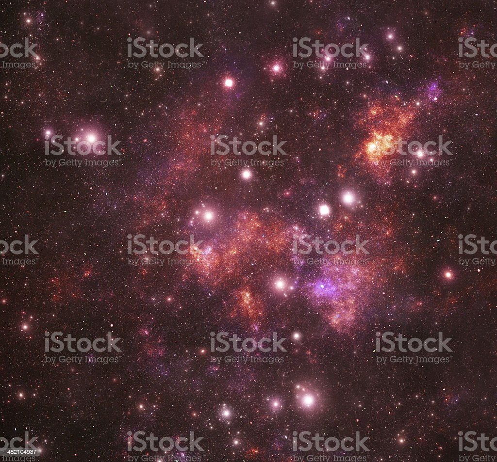 Constellations.  Hercules (Her) stock photo