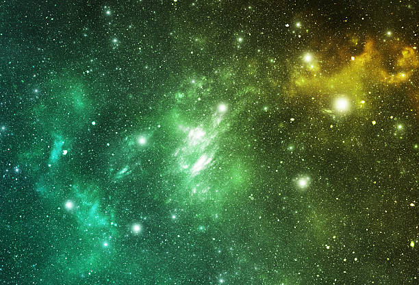 Constellations. Piscis Austrinus (PsA) stock photo