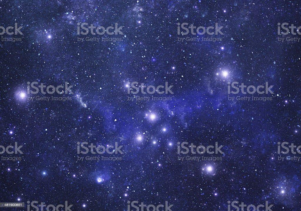 Constellations. Taurus (zodiacal) stock photo