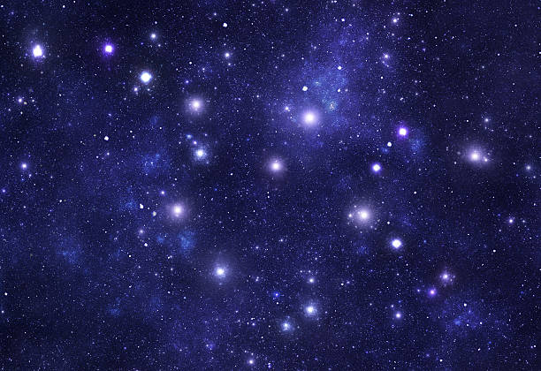 Constellations. Ursa Major (UMa) stock photo