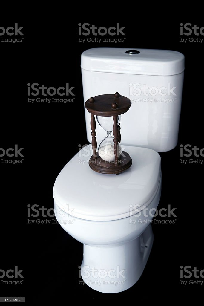Constipation royalty-free stock photo
