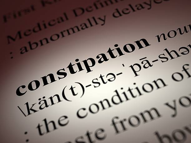 Constipation stock photo
