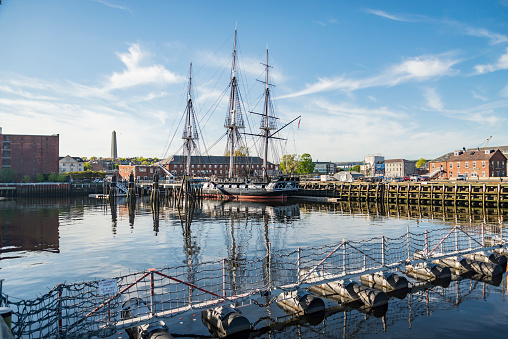 USS Constitution Boat in Boston