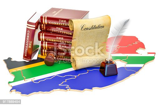 istock Constitution of South Africa concept, 3D rendering 917889454
