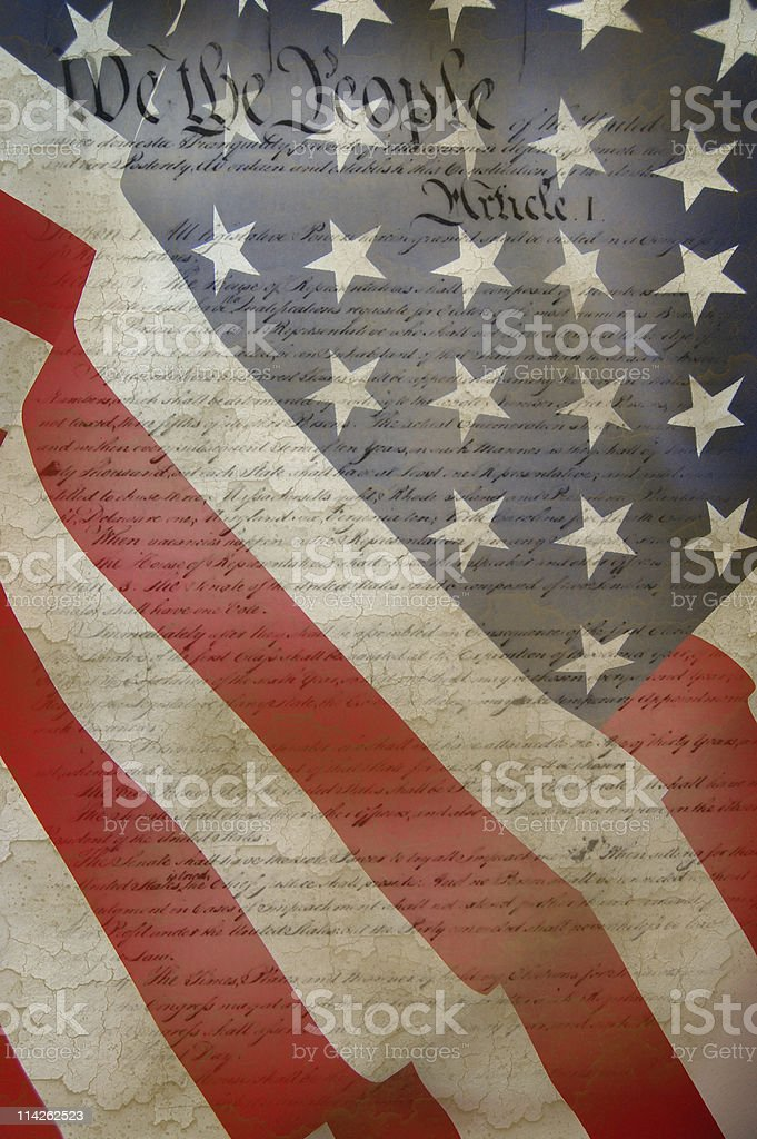 Constitution stock photo