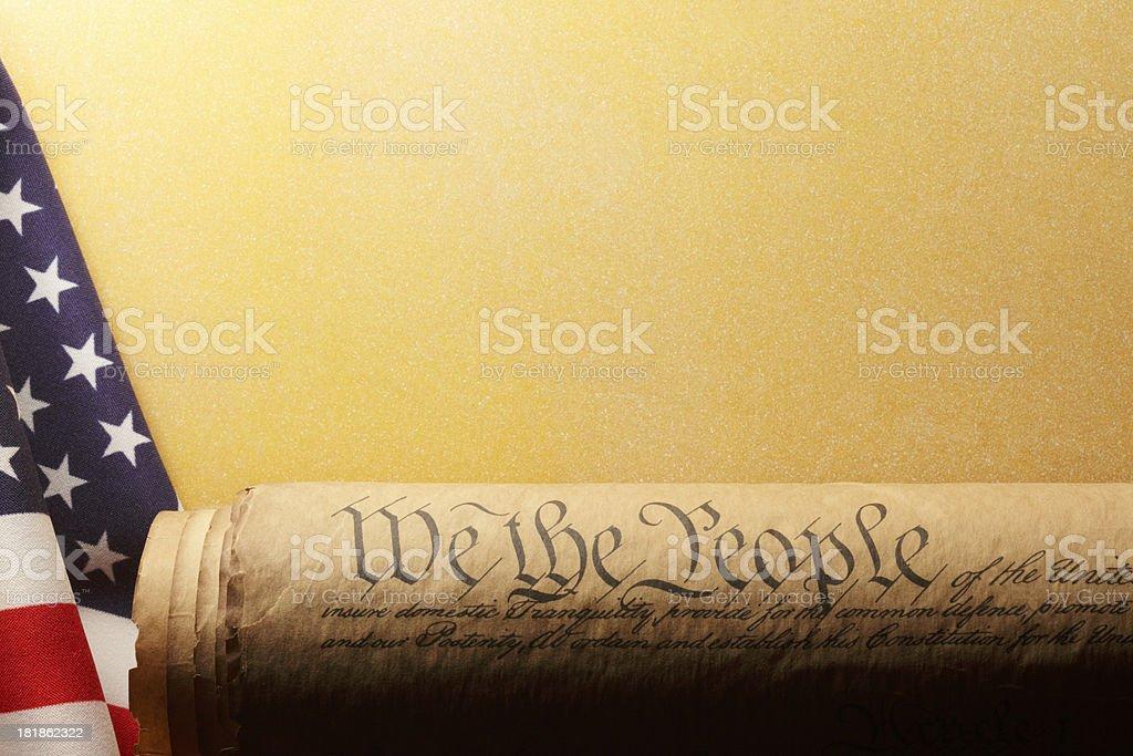 U.S. Constitutuion stock photo