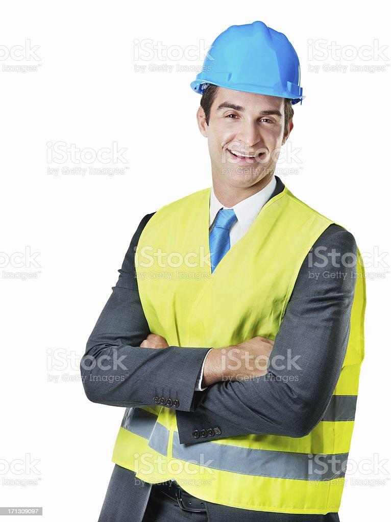 Constructing corporate relationships royalty-free stock photo
