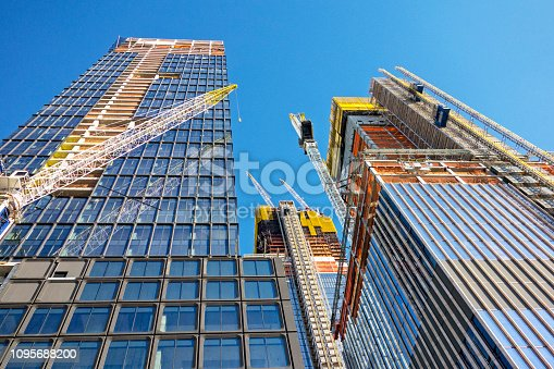 constructing skyscraper in New York City