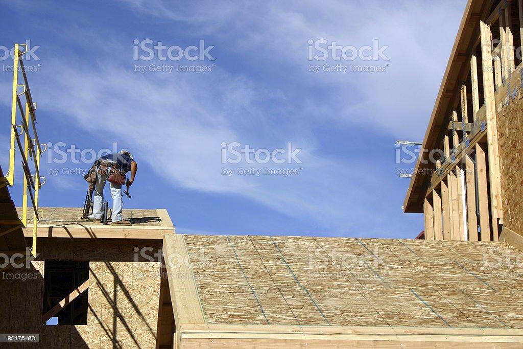 Construction 2 royalty-free stock photo