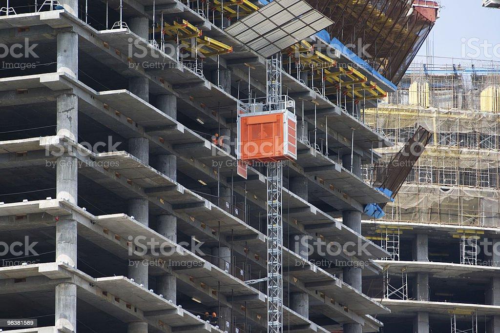Construction 3 royalty-free stock photo
