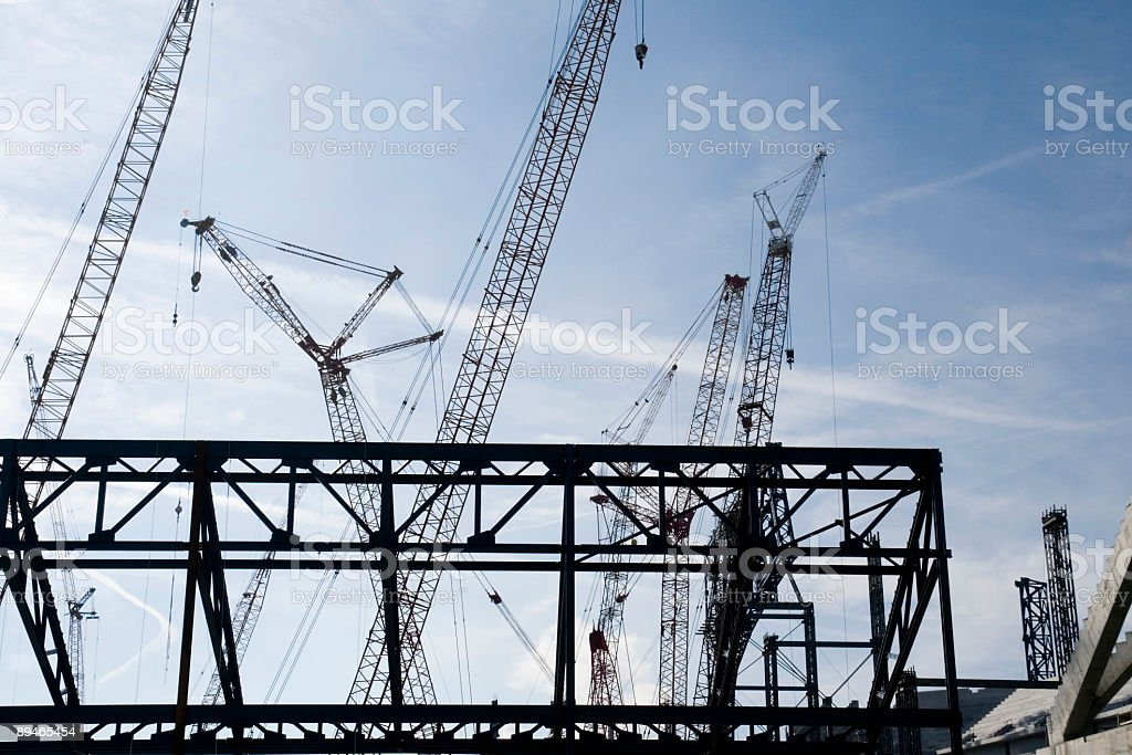 Construction 4 royalty-free stock photo