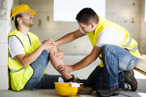 istock Construction accident 466695833