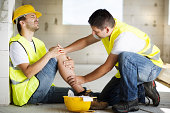 istock Construction accident 466695833