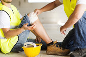 istock Construction accident 466715871