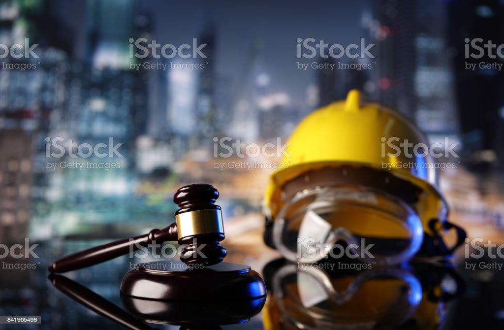 Aufbau und Arbeit Recht. – Foto