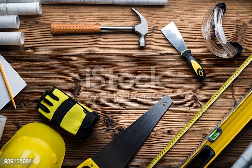 898133862 istock photo Construction and renovation concept. 939125684
