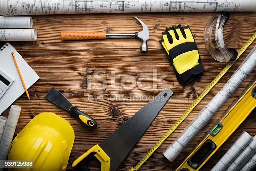 898133862 istock photo Construction and renovation concept. 939125938