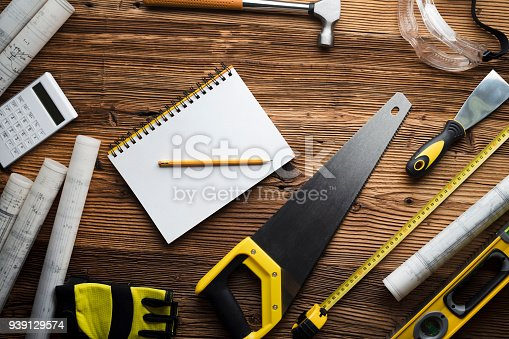 898133862 istock photo Construction and renovation concept. 939129574