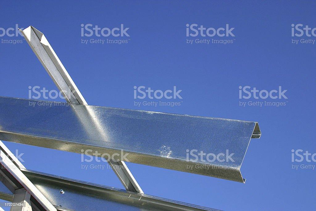 construction angle stock photo