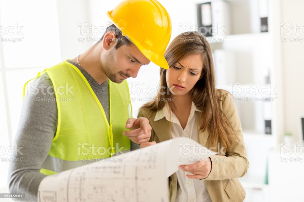Construction Architect foto stock royalty-free
