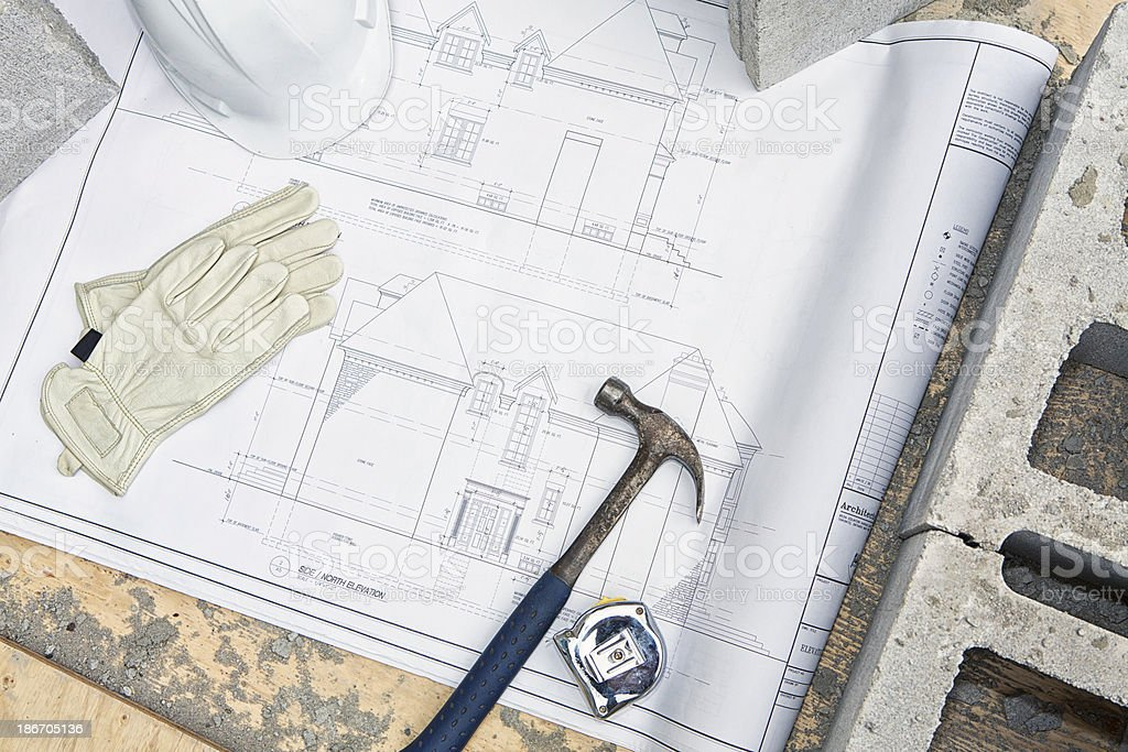 Construction Background royalty-free stock photo
