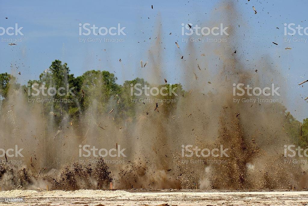 Construction Blast 2 stock photo