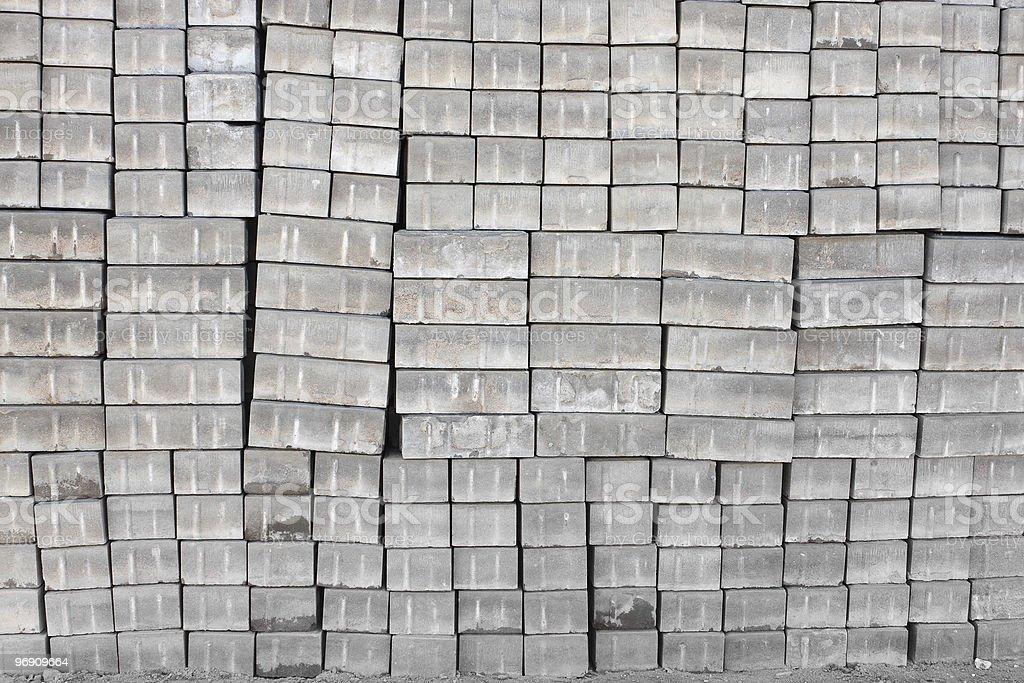 Construction blocks royalty-free stock photo