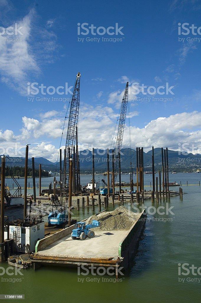 Construction Boom royalty-free stock photo