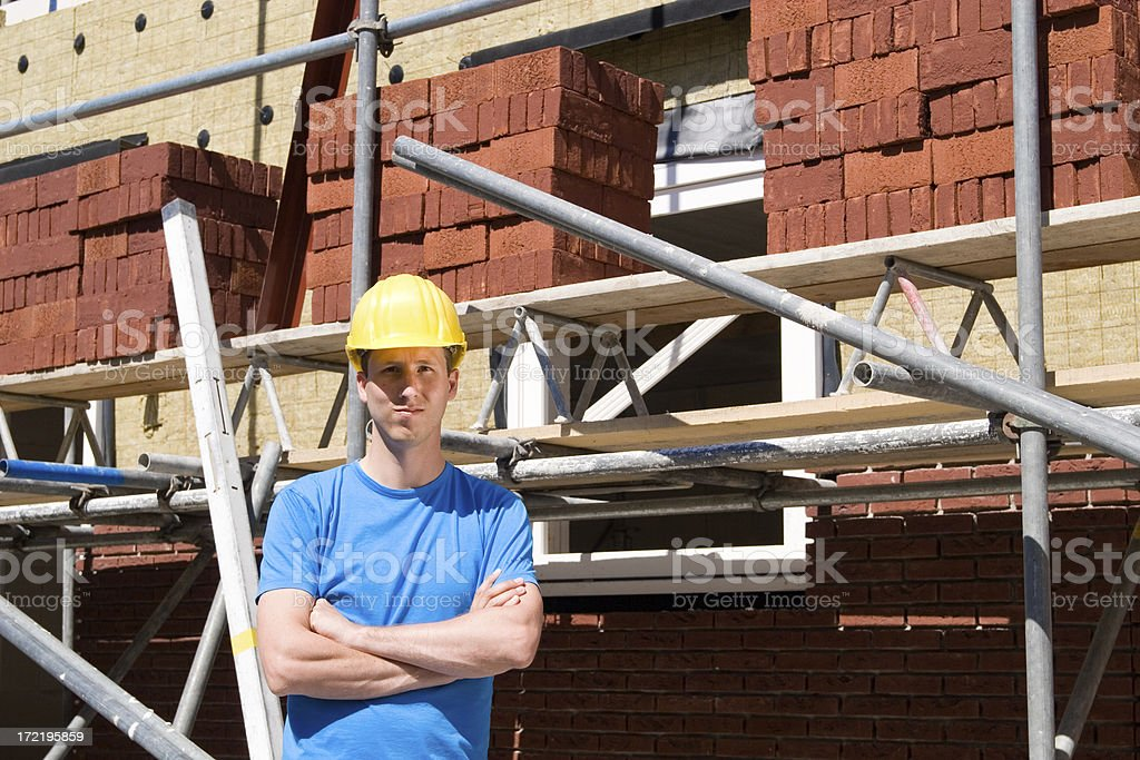 Construction Builder royalty-free stock photo