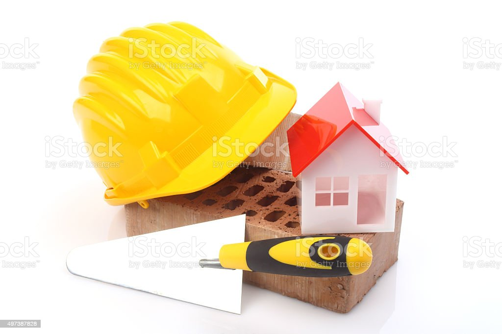 construction concept stock photo