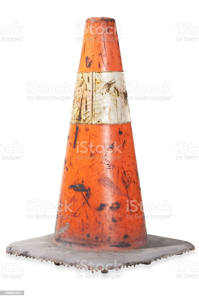 Construction Cone royalty-free stock photo