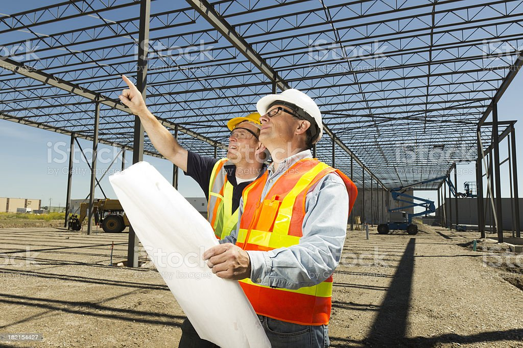 Construction Cooperation royalty-free stock photo