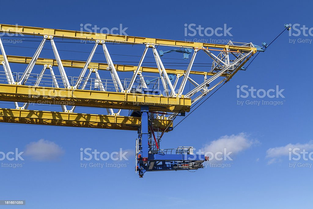 Construction Crane II royalty-free stock photo