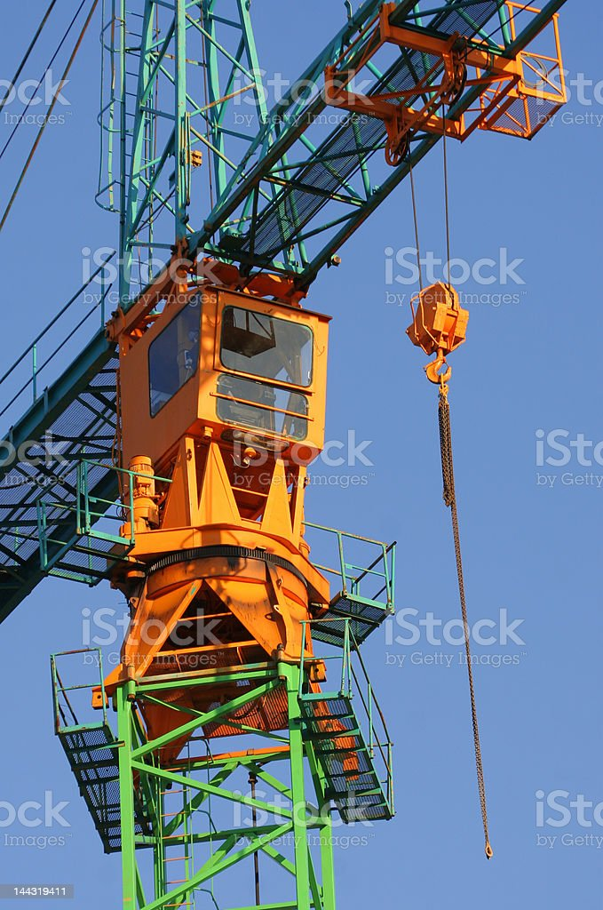 Construction Crane royalty-free stock photo