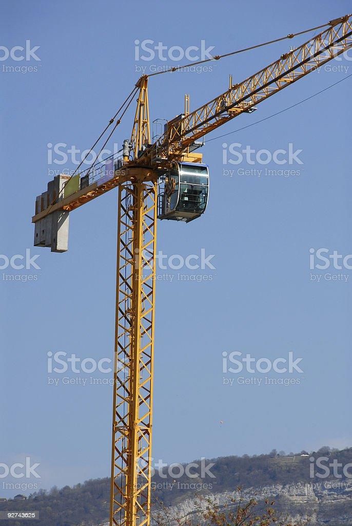 Bau Kran Lizenzfreies stock-foto