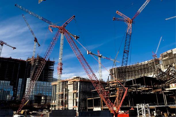 Travaux de Construction de grues à Las VEgas - Photo