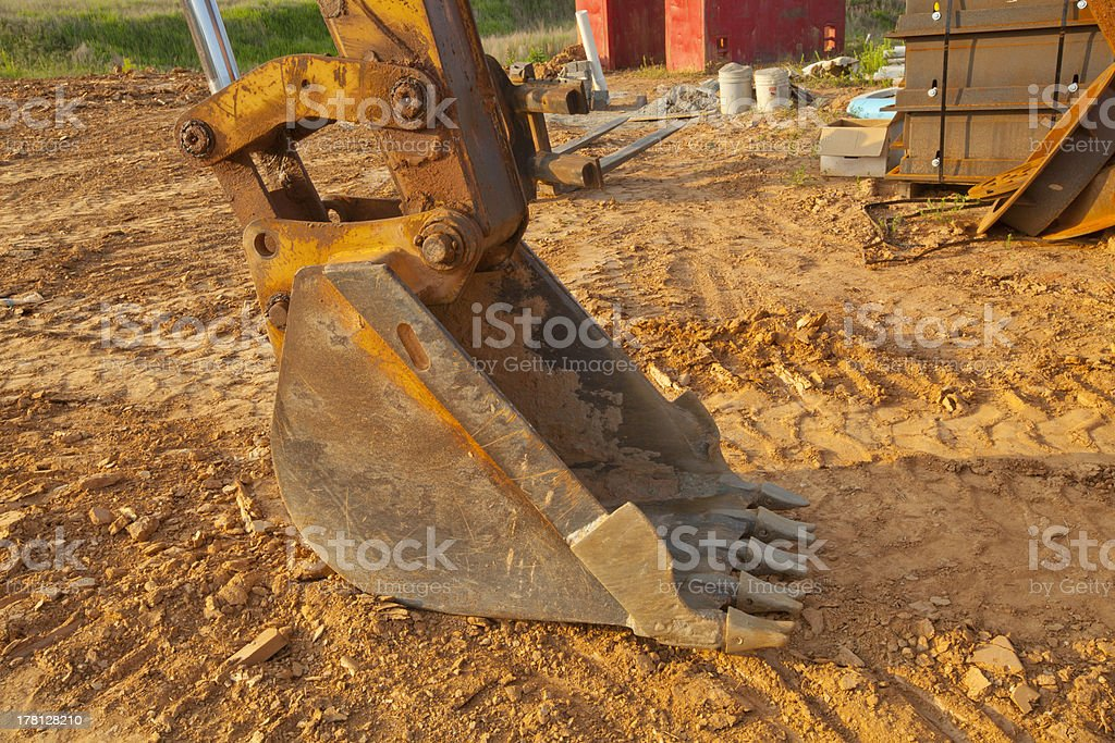 Construction Digger royalty-free stock photo
