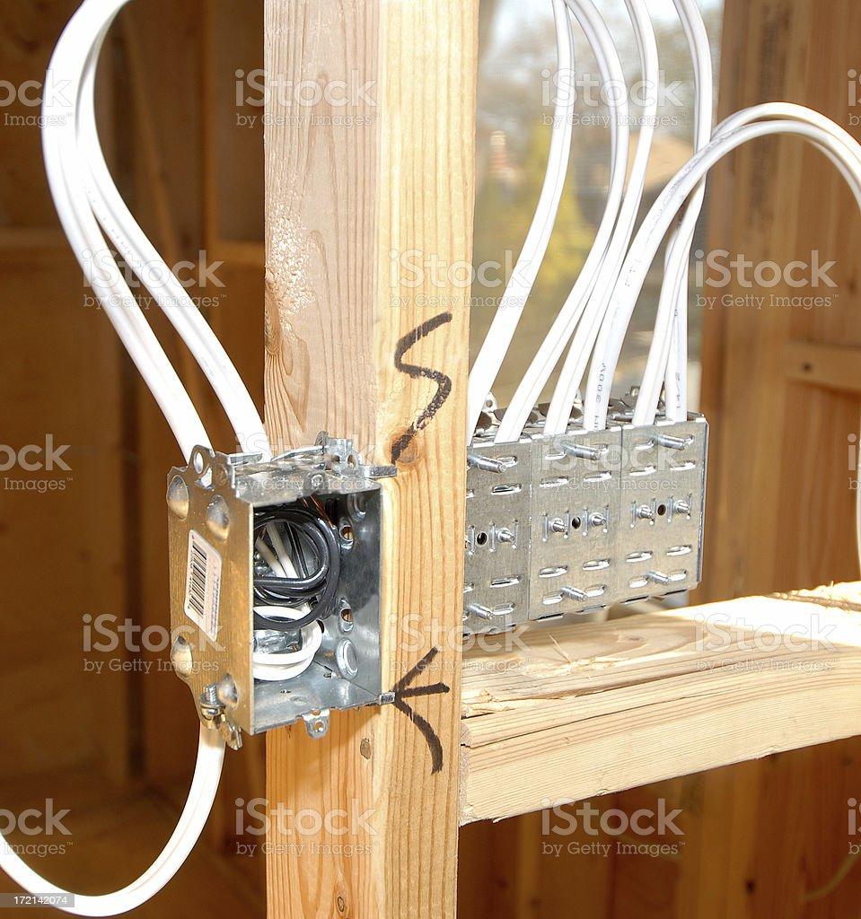 construction- elektrischen Arbeiten – Foto