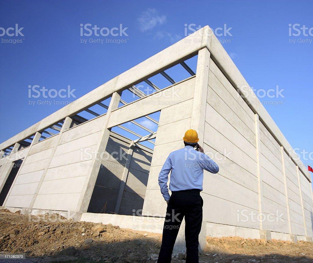 Construction Engineering royalty-free stock photo