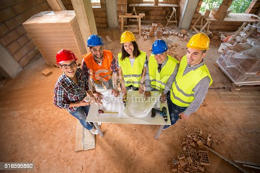516607254 istock photo Construction equip on the working place 516595892